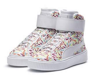 Platform Mid Kiku Womens Sneakers