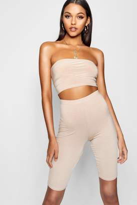 boohoo Tall Jersey Basic Cycling Shorts