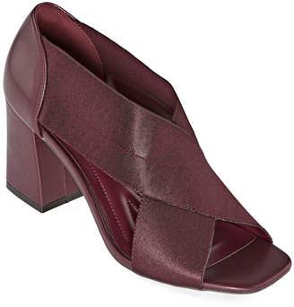 Andrew Geller Womens Cece Slip-On Shoe Open Toe