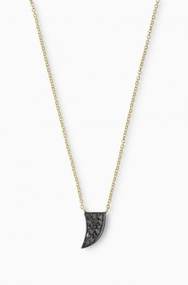 Covet Pave Abundance Necklace - Yellow Gold $298 thestylecure.com