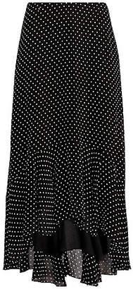 Polo Ralph Lauren (ポロ ラルフ ローレン) - [POLO RALPH LAUREN(ウィメンズ)] ポルカドット ハイロー スカート