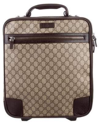 Gucci GG Supreme Carry-On Suitcase