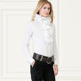 Ralph Lauren Layla Ruffled-Collar Shirt $1,990 thestylecure.com