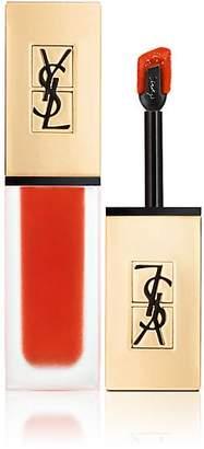 Saint Laurent Women's Tatouage Couture Lip Stain - Blood Orange Pact