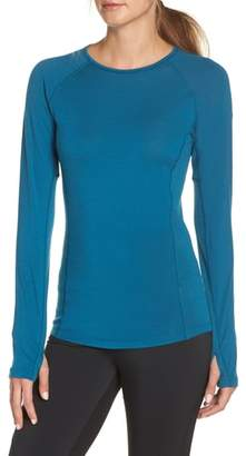 Icebreaker BodyfitZONE(TM) 150 Zone Merino Wool Blend Base Layer Tee