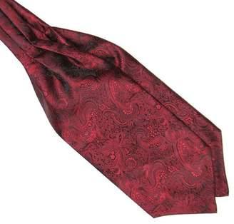 78e37a7728f1 Shuohu Mens Necktie,Silky Satin Necktie Cravat Ascot Tie for Wedding Banquet