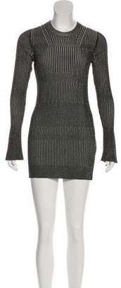 By Malene Birger Long Sleeve Mini Dress