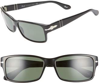 Persol 58mm Polarized Square Sunglasses