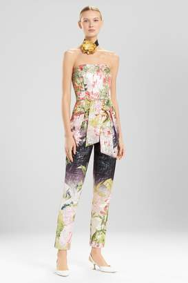 Natori Josie Birds Of Paradise Jumpsuit
