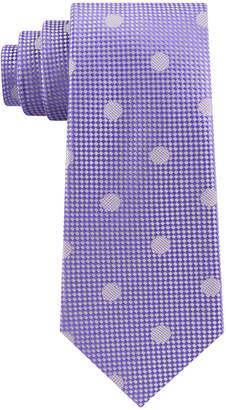22a8dc57d8cd Sean John Men Checkered Textured Dot Silk Tie