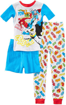 Justice 3-Pc. League Cotton Pajama Set, Little Boys & Big Boys
