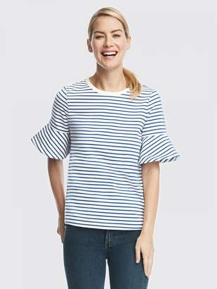 Draper James Sailor Stripe Ponte Tee