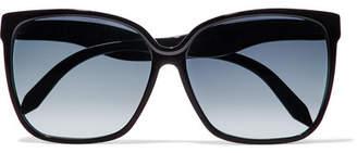 Victoria Beckham - Square-frame Acetate Sunglasses - Black