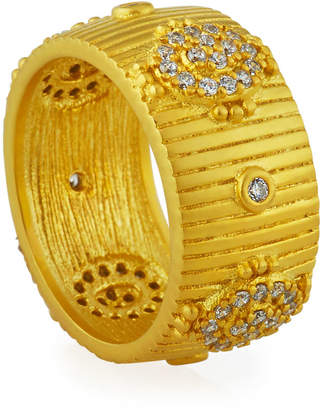 Freida Rothman Amazonian Allure Band Ring, Size 6