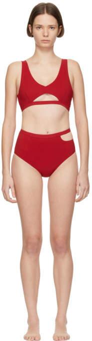 Marieyat Red Ryym Sade Bikini