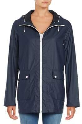 Cole Haan Water-Resistant Anorak Jacket