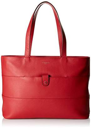 Le Tanneur Women's TWO1660 Tote Red