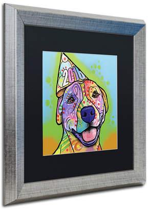 """Roxy Trademark Global Dean Russo 'Calendar Roxy' Matted Framed Art, 16"""" x 16"""""""