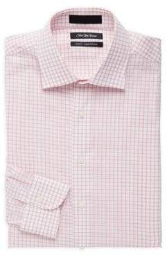 Saks Fifth Avenue Slim-Fit Cotton Check Dress Shirt