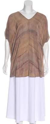 Eileen Fisher Oversize Silk Blouse