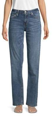 Calvin Klein Jeans Straight-Fit Mid-Rise Jeans