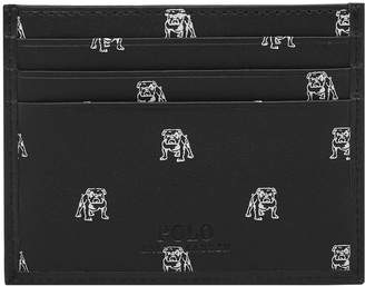Polo Ralph Lauren Bulldog Print Card Holder