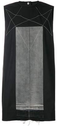 Rick Owens straight-fit denim dress