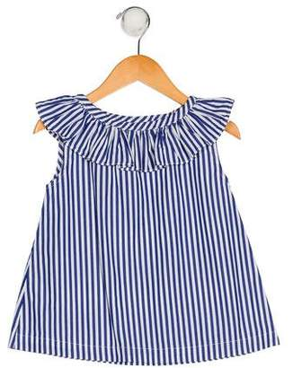 Rachel Riley Girls' Sleeveless Striped Top