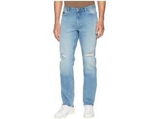 Calvin Klein Jeans Slim Straight Fit Jeans in Divisadero Blue Wash