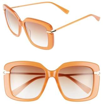 Derek Lam Anita 55mm Square Sunglasses