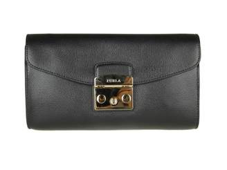 Furla Pochette Metropolis S In Skin Color Black