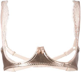 Loveday London bondage bra