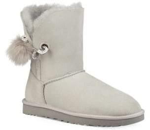 UGG Irina Fur Round Toe Boots