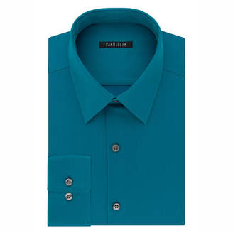 Van Heusen Flex Cool Collar Slim Long-Sleeve Woven Dress Shirt