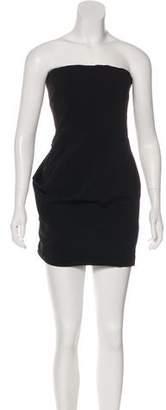 Pierre Balmain Strapless Mini Dress w/ Tags