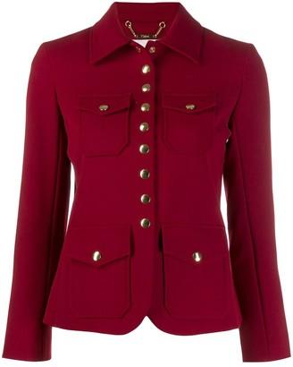 Chloé press stud jacket