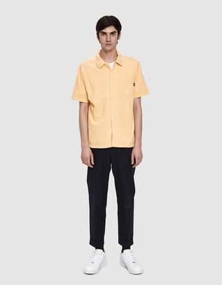 Stussy Sid Mesh Shirt in Peach