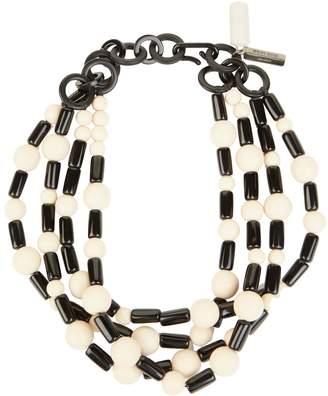 Max Mara Chunky Beaded Necklace