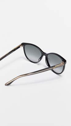 Gucci Web Cat Eye Sunglasses