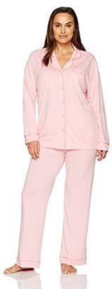 Cosabella Women's Plus Size Bella L/s Pant Pj Set