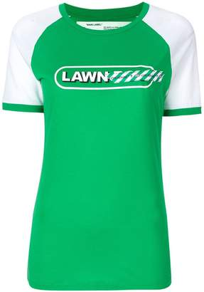 Off-White lawn girl T-shirt