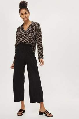 Petite plisse trousers