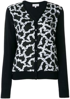 Carven patterned V-neck cardigan