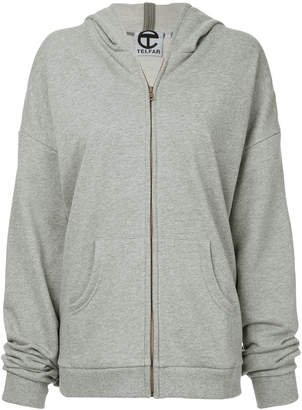 Telfar cap hoodie