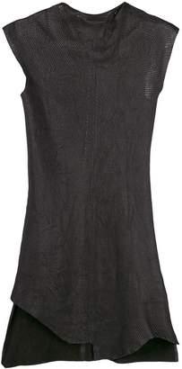 Olsthoorn Vanderwilt asymmetric fitted dress