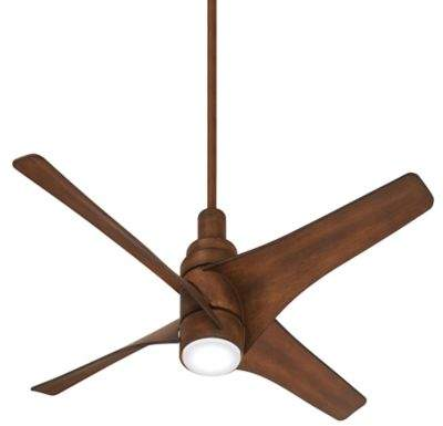 Minka Aire Minka-Aire Swept 56-Inch LED Single-Light Ceiling Fan in Koa