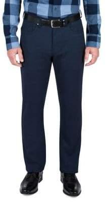 Haggar Heritage Straight-Fit Flannel Pants