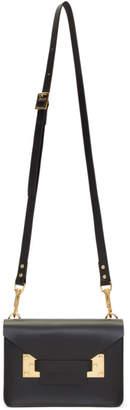 Sophie Hulme Black Mini Milner Crossbody Bag