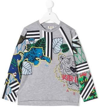 Kenzo jungle graphic sweatshirt