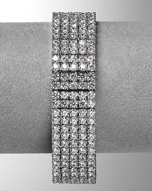 Lora Paolo Five-Row Prong Set Bracelet